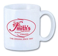 White Mug Smiths Logo