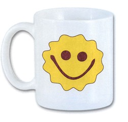 Smith's Smiley White Mug