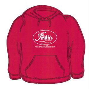 Smith's Red Sweatshirt